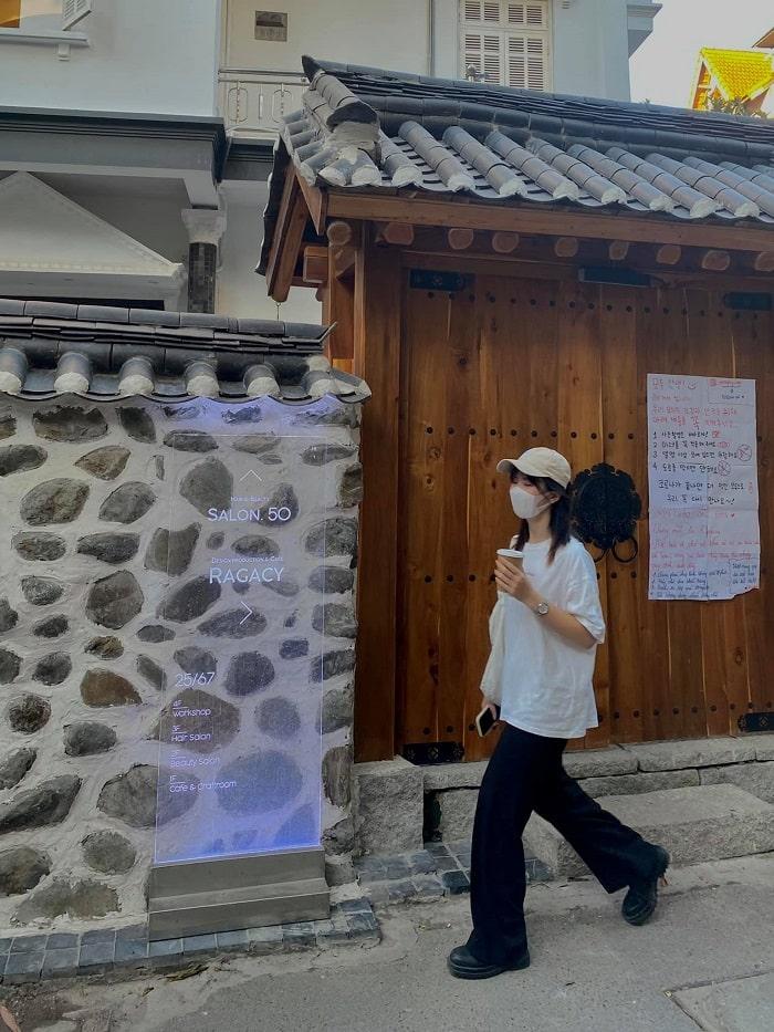Korean alley cafe - new check-in address in Hanoi