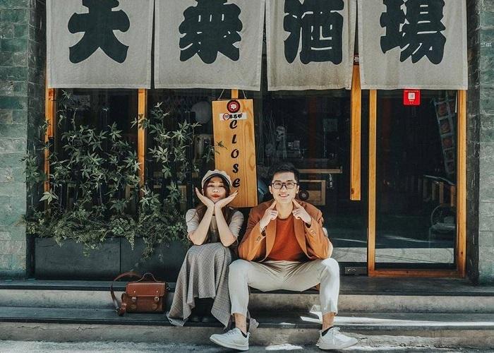 địa điểm chụp ảnh ngoại cảnh ở Sài Gòn- phố Nhật