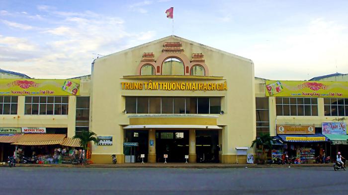 địa điểm du lịch Rạch Giá - trung tâm thương mại Rạch Giá