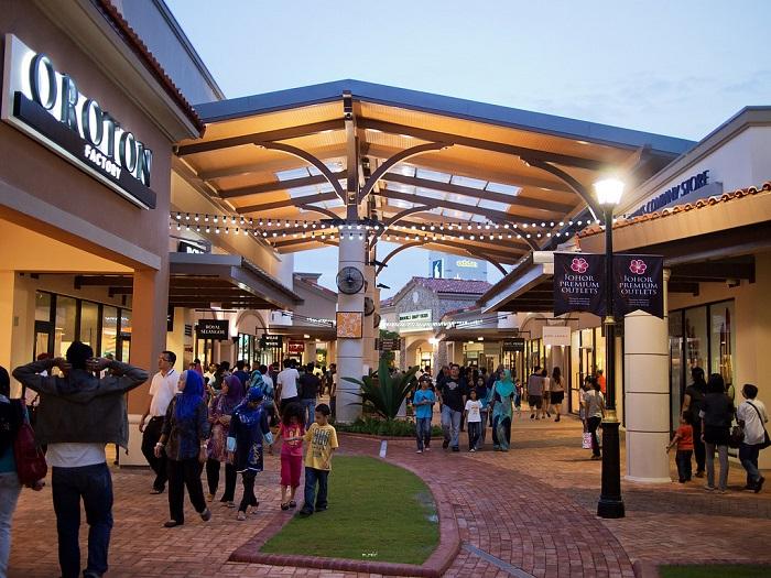 Johor Premium Outlets - Địa điểm mua sắm ở Johor Bahru