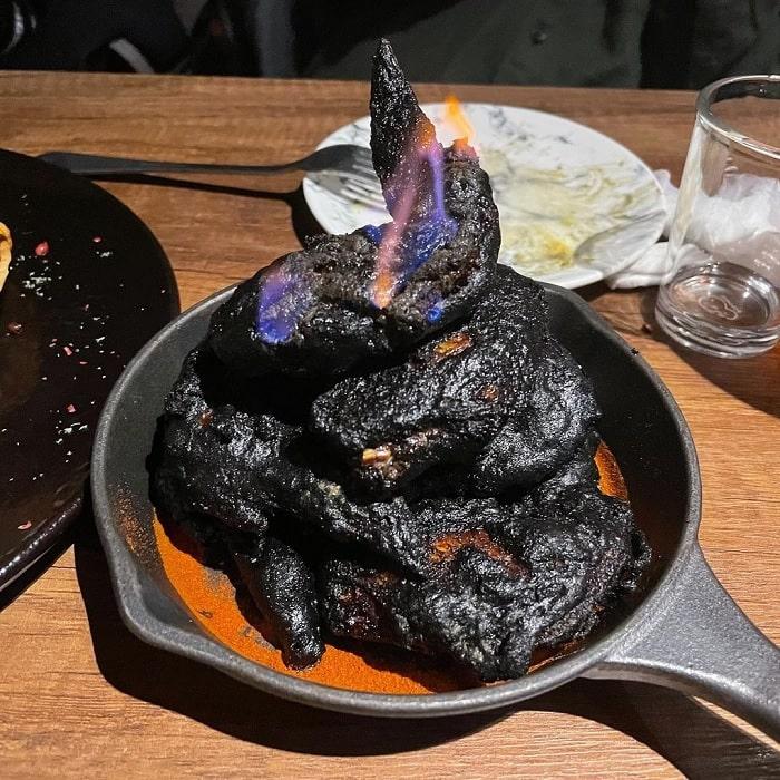 gà bóng đêm - món ăn ngon tại quán bar cho người chán đời
