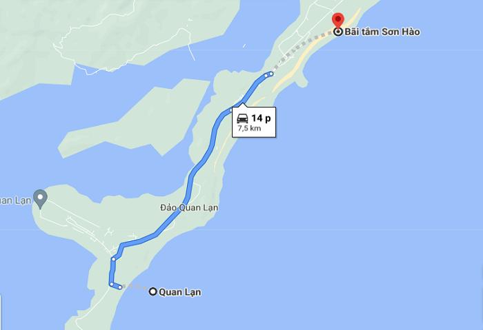 Son Hao beach - move