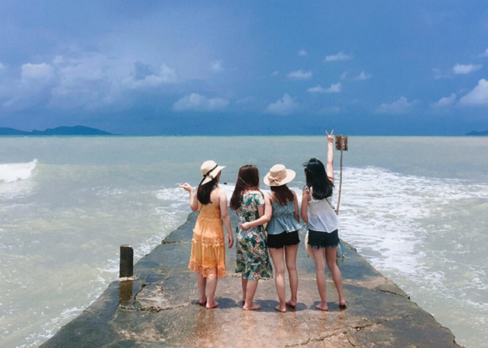 Bãi biển Sơn Hào - thiên đường 'giải nhiệt' ngày hè và sống ảo tuyệt đẹp