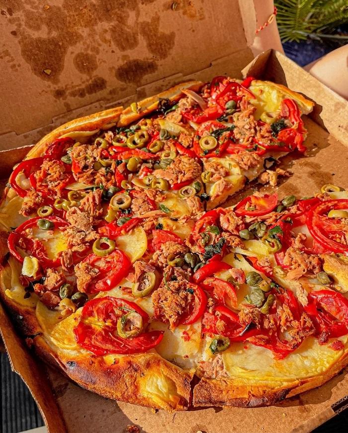 Bánh pizza Pho mai của Maltaa - Du lịch Malta