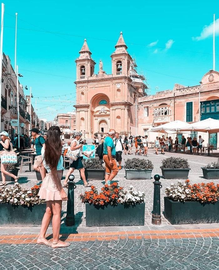 Trung tâm phố cổ của Valletta - Du lịch Malta