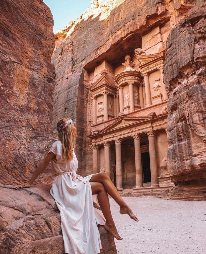 Địa điểm lịch sử ở Jordan này lưu giữ nhiều kiến trúc bằng đá - Du lịch Petra Jordan