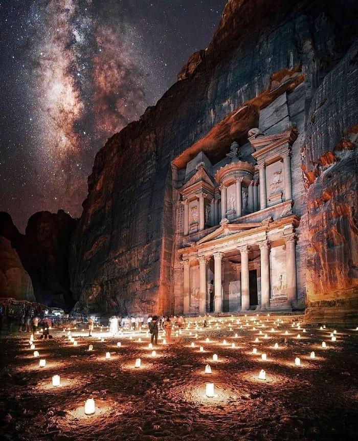 Petra by Night - Du lịch Petra Jordan