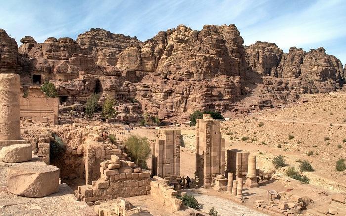 Lăng mộ Hoàng gia - Du lịch Petra Jordan