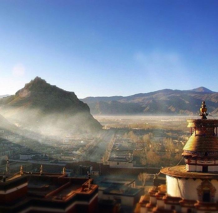 Thời gian nắng hàng năm của Shigatse lên đến 3300 giờ - Du lịch Shigatse