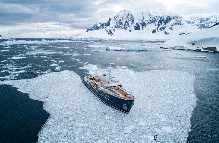 Có rất nhiều  điểm trên trên hành trình Nam Cực - Du thuyền Nam Cực