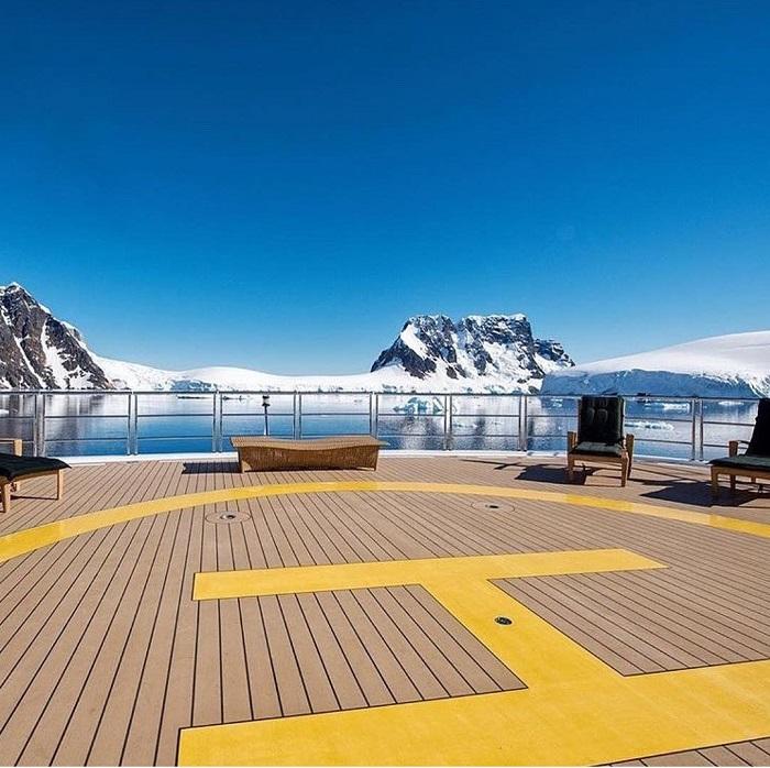 Trên một du thuyền đến Nam Cực - Du thuyền Nam Cực