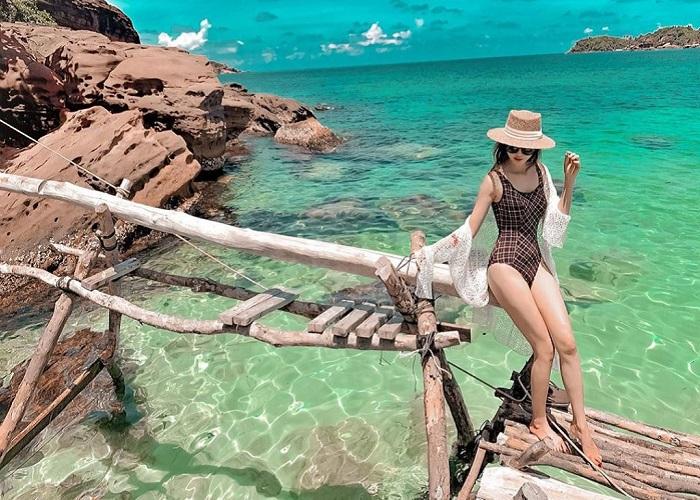 Beautiful island in Phu Quoc - Nail Island
