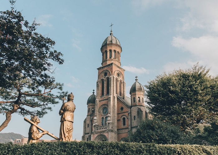 Nhà thờ Jeondong - Làng Hanok Jeonju