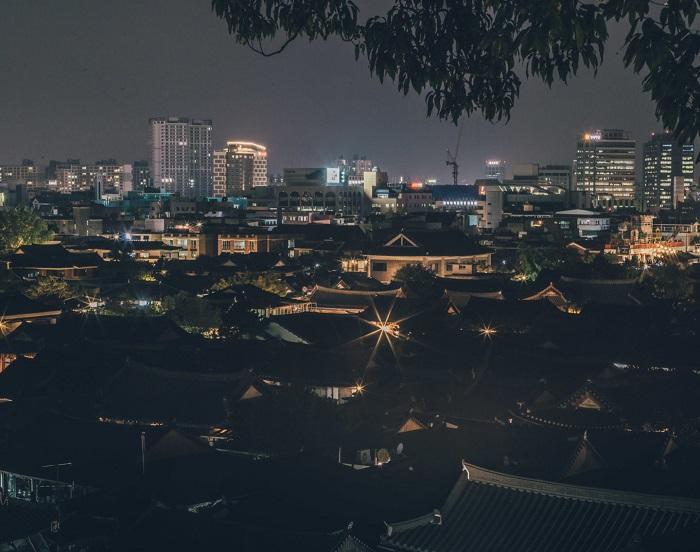 Làng Hanok Jeonju cổ kính