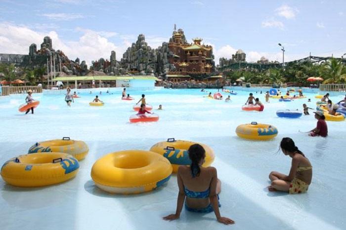 Khu du lịch gần Sài Gòn có hồ bơi - khu du lịch Đại Nam vui chơi
