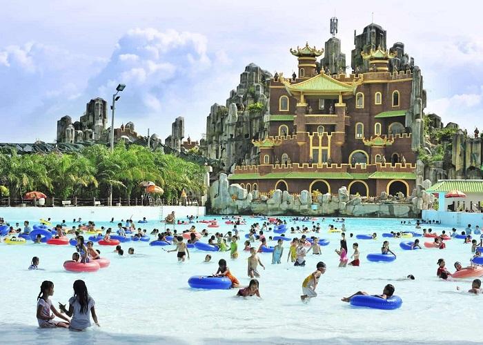 Khu du lịch gần Sài Gòn có hồ bơi - khu du lịch Đại Nam
