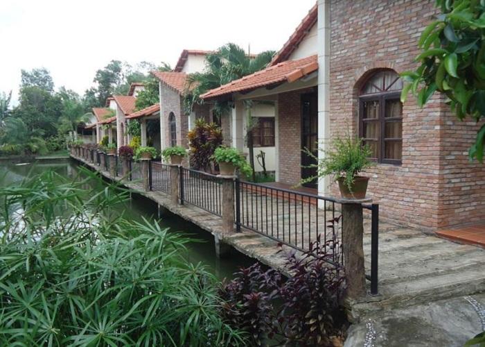 Khu sinh thái Villa H2O Hóc Môn - nơi ở