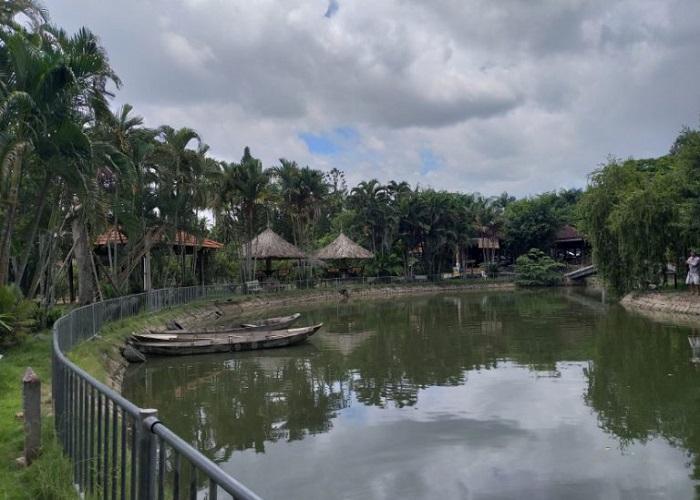 Khu sinh thái Villa H2O Hóc Môn - ngắm cảnh