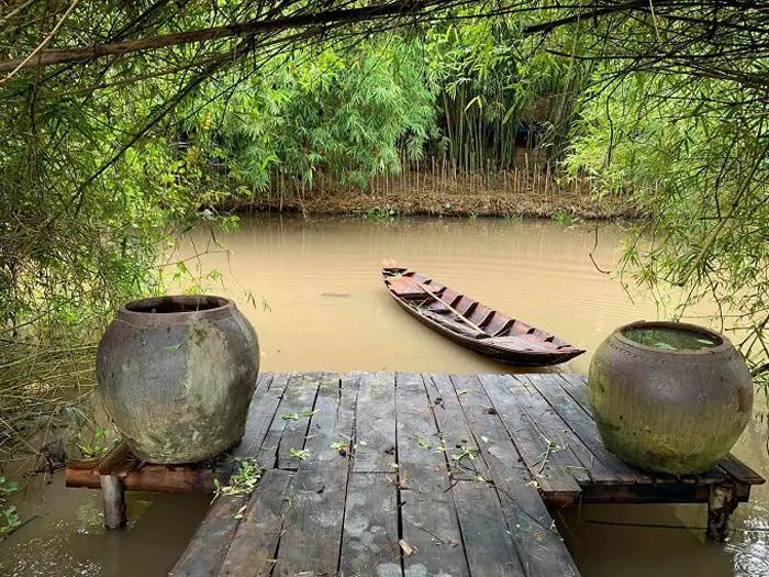 Visit Bamboo Garden eco-tourism area - Romantic scenery