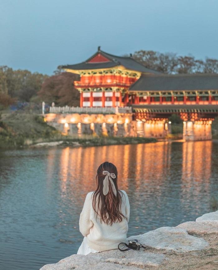 Cung điện Donggung - Kinh nghiệm du lịch Gyeongju