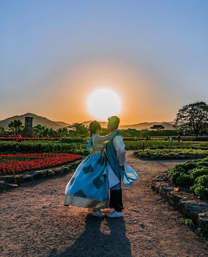 Quần thể Lăng mộ Daereungwon - Kinh nghiệm du lịch Gyeongju