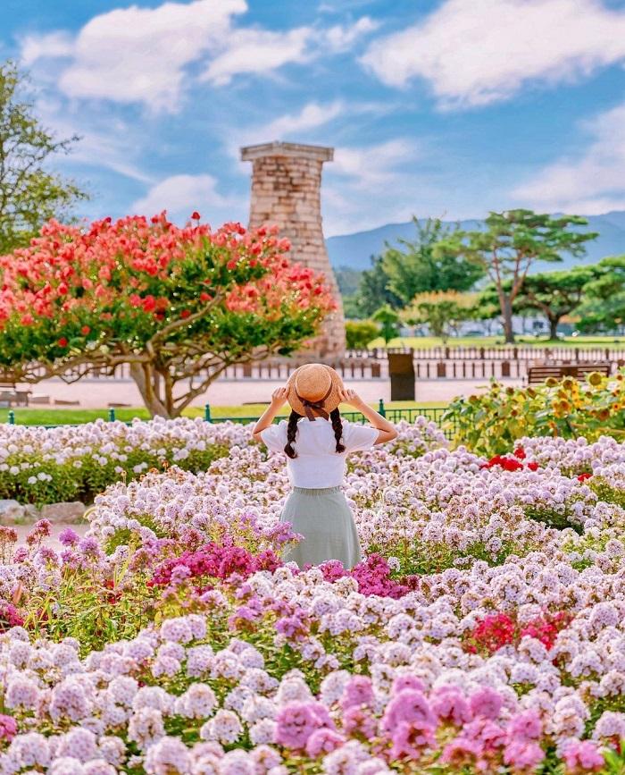 Đài quan sát Cheomseongdae - Kinh nghiệm du lịch Gyeongju