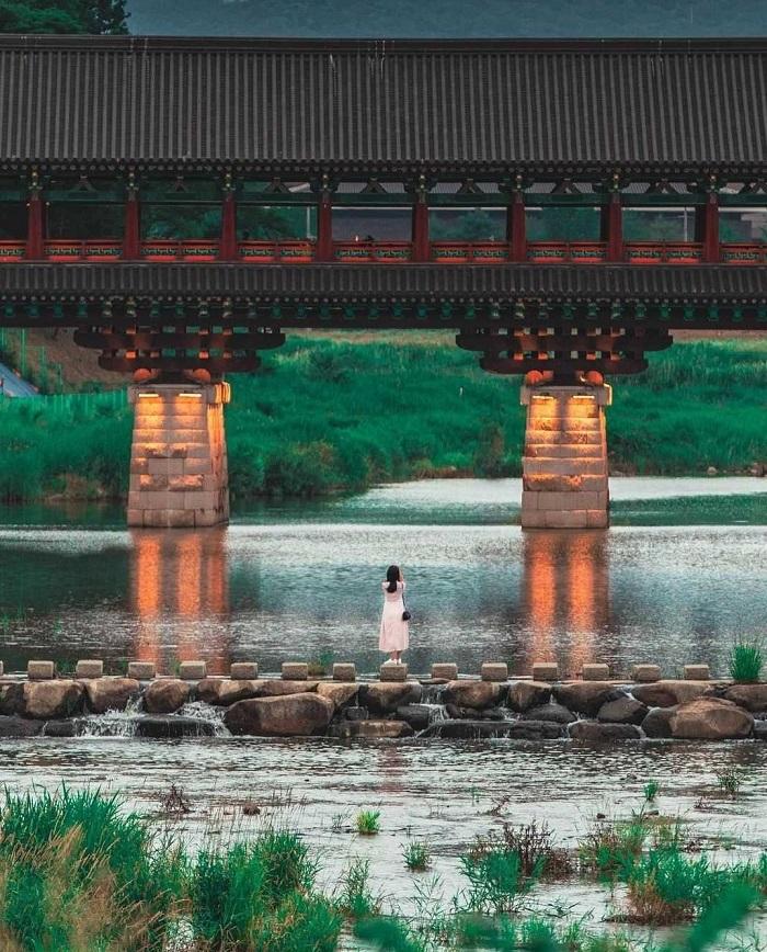 Cầu Woljeonggyo - Kinh nghiệm du lịch Gyeongju
