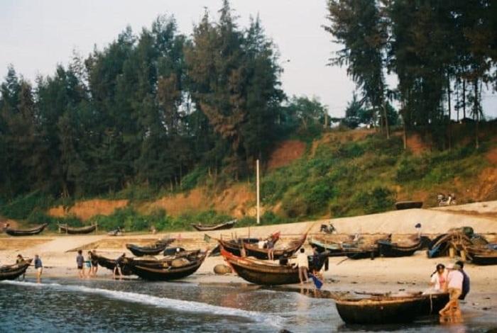 làng chài Cửa Việt Quảng Trị - địa chỉ ở đâu