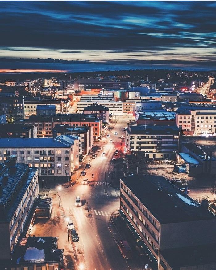 Thành phố Rovaniemi Phần Lan - Du lịch Rovaniemi