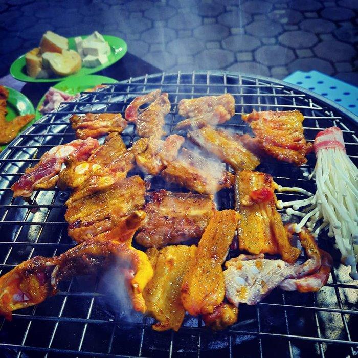 nguyễn thái học con phố ẩm thực ở Thái Bình