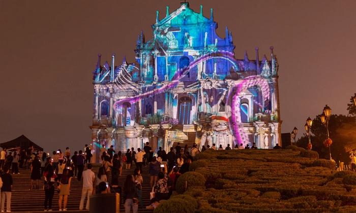 Lễ hội ánh sáng Ma Cao - Lễ hội ánh sáng đẹp nhất thế giới