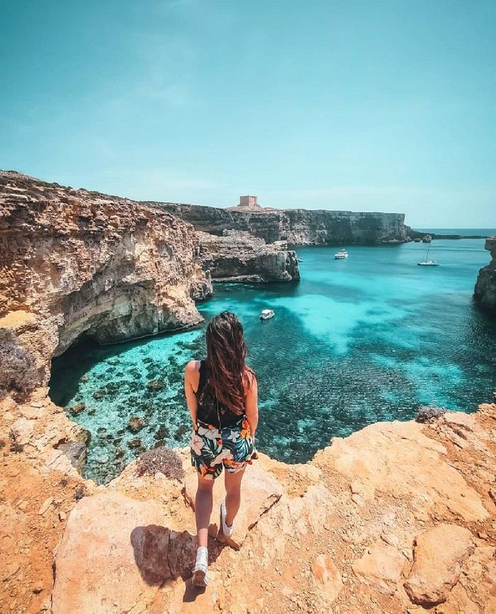 Vùng biển tuyệt đẹp của đảo Gozo - Du lịch Malta