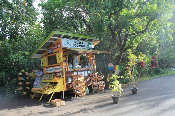 Một quán ăn ven đường trênđường đến Hana - Hướng dẫn du lịch đảo Maui