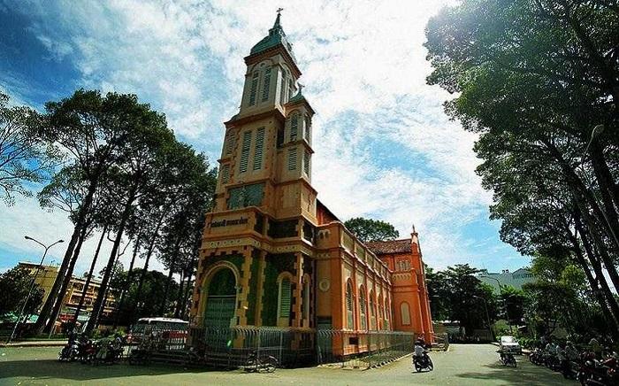 Saint Jeanne d'Arc Church - famous church in Saigon