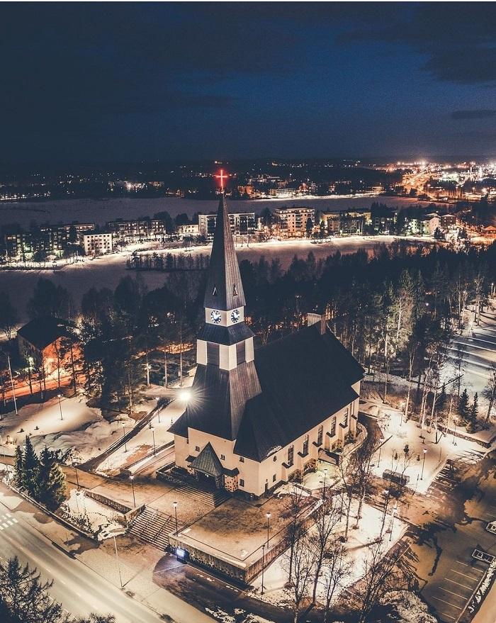 Nhà thờ Rovaniemi - Du lịch Rovaniemi