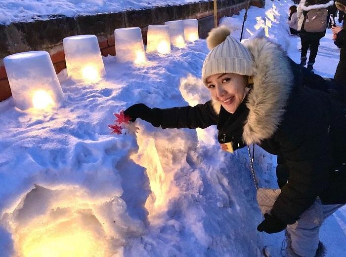 Những ngọn đèn tuyết trong lễ hội - Lễ hội ánh sáng đẹp nhất thế giới