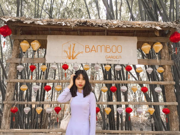 Visit Bamboo Garden eco-tourism area - Many check-in areas