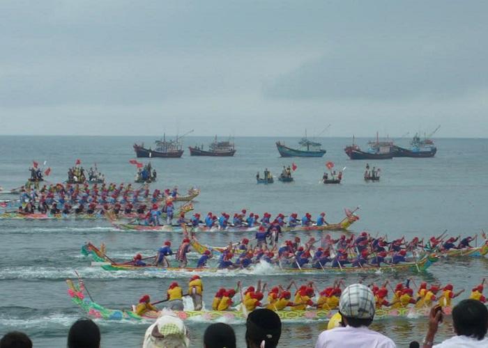 Những lễ hội ở Kiên Giang - lễ hội đua thuyền