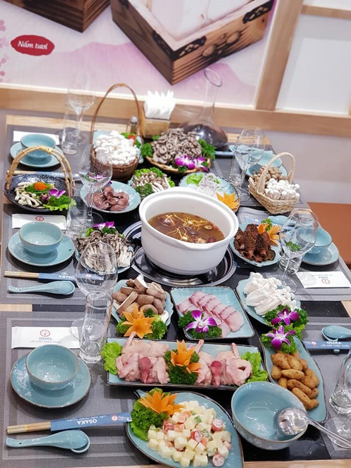 OSAKA Mushroom Hotpot quán ăn ngon ở Ecopark