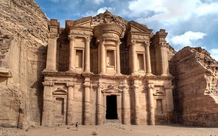 Tu viện (Al Dayr) - Du lịch Petra Jordan