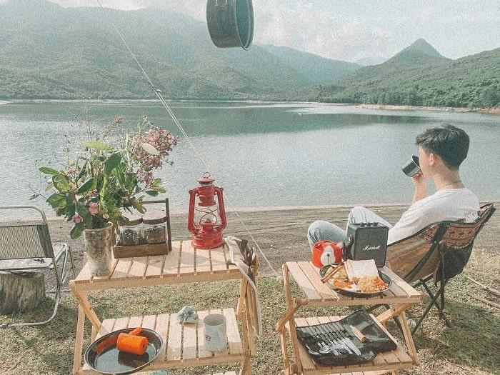 picnic - trải nghiệm thú vị tại Hồ Long Mỹ