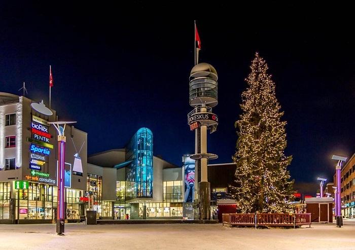 Quảng trường Lordi - Du lịch Rovaniemi