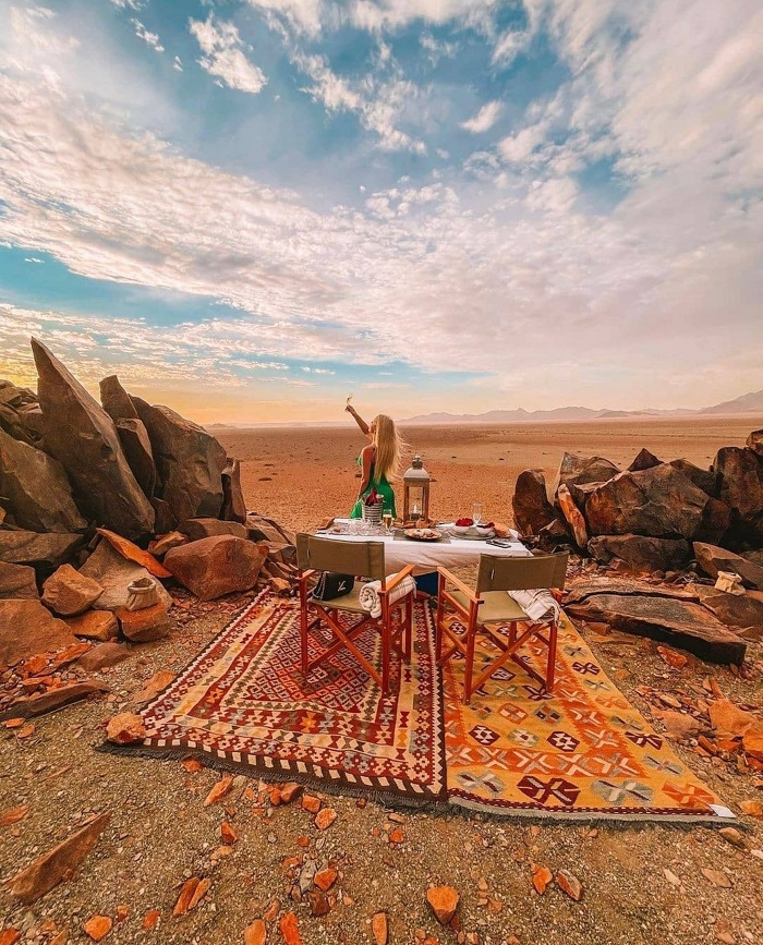 """Được gọi là """"Sa mạc sống"""" - Sa mạc Namibia"""