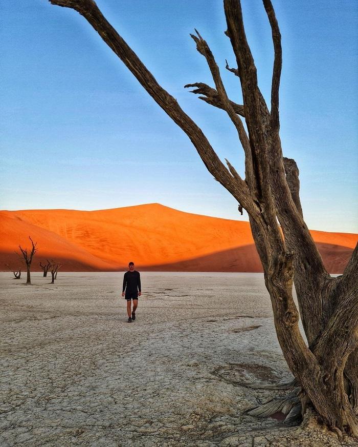 Namib là một trong những sa mạc lâu đời nhất thế giới và là Di sản Thế giới  - Sa mạc Namibia