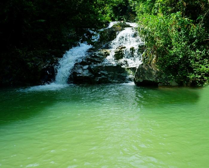 Những thác nước đẹp ở Quảng Ninh- thác Khe Lạnh