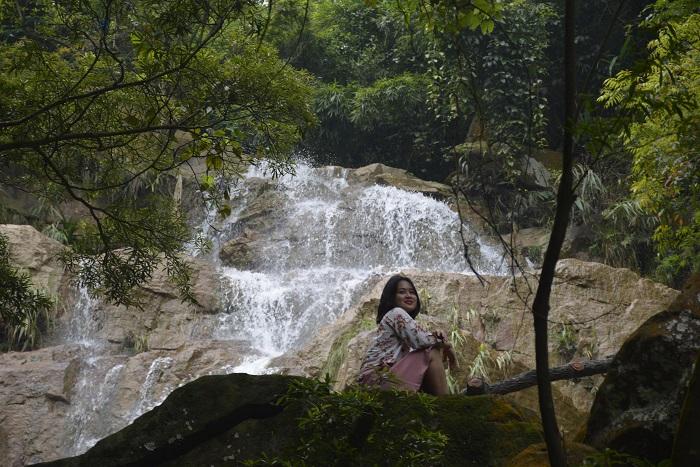 Những thác nước đẹp ở Quảng Ninh- thác Lựng Xanh