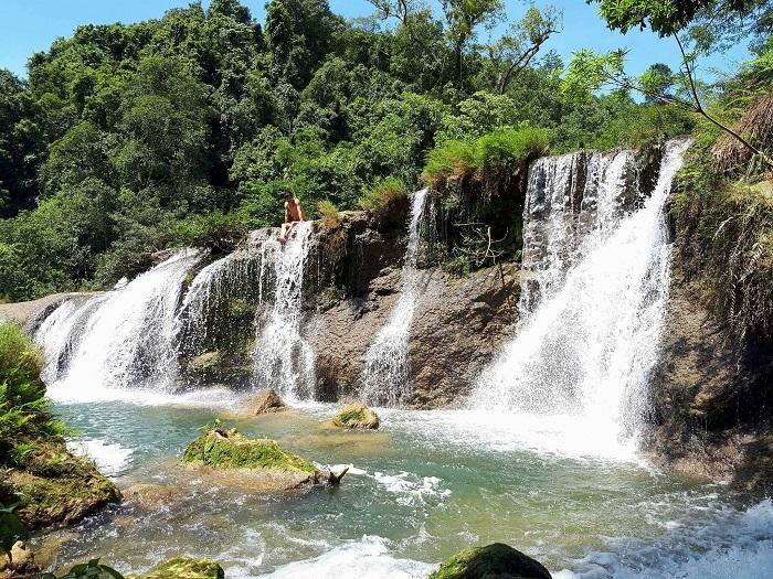 Những thác nước đẹp ở Quảng Ninh- thác Mơ