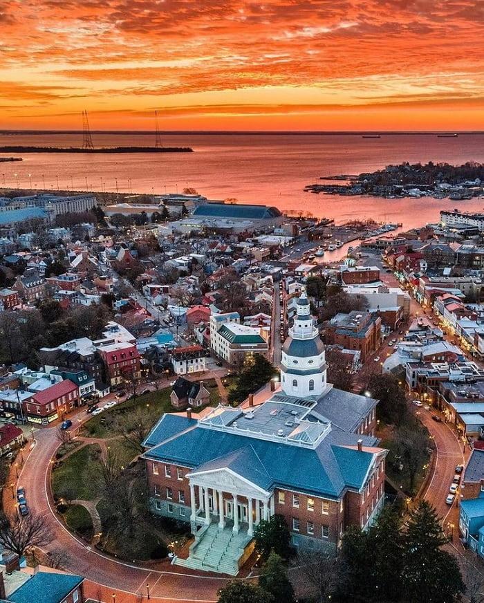 Annapolis - thị trấn cổ ở Mỹ đẹp như họa