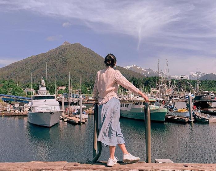 Sitka - thị trấn cổ ở Mỹ đẹp như họa