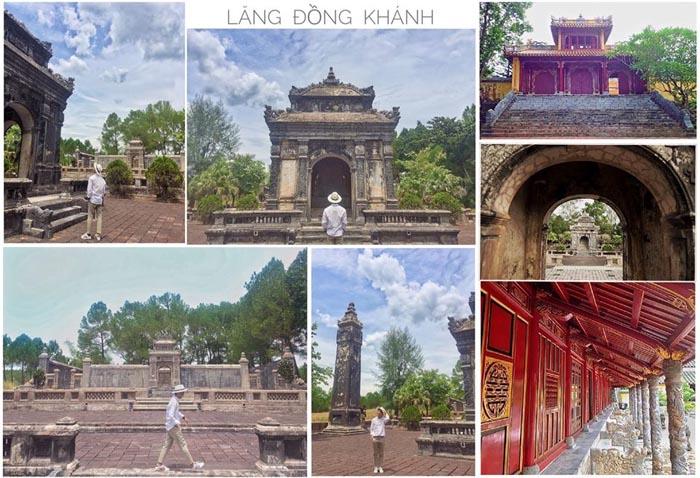 Lăng Đồng Khánh nhà Nguyễn - Thời gian xây dựng